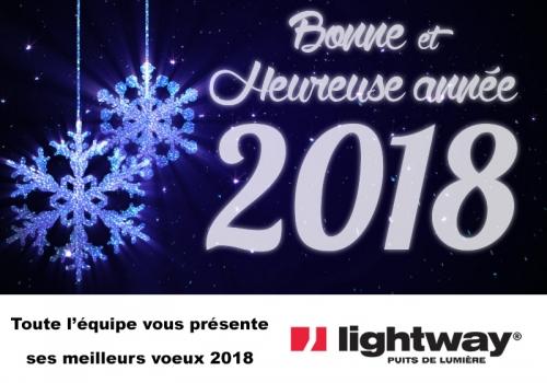 puit de lumière - Voeux 2018